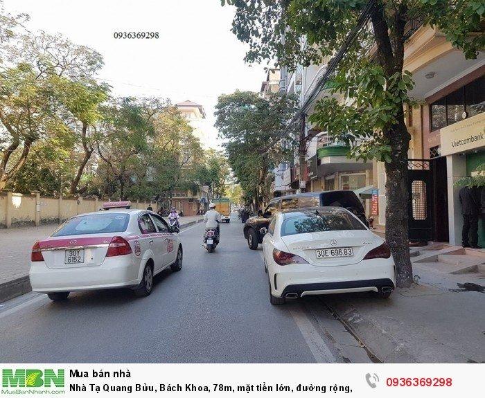 Nhà Tạ Quang Bửu, Bách Khoa, 78m, mặt tiền lớn, đường rộng