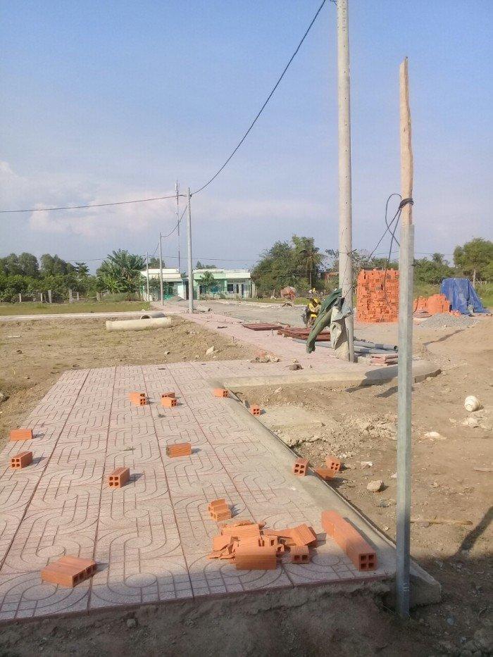 Bán nhà xây mới 100% Sổ Hồng Riêng gần cụm Khu CN ngay cầu Bà Đắc