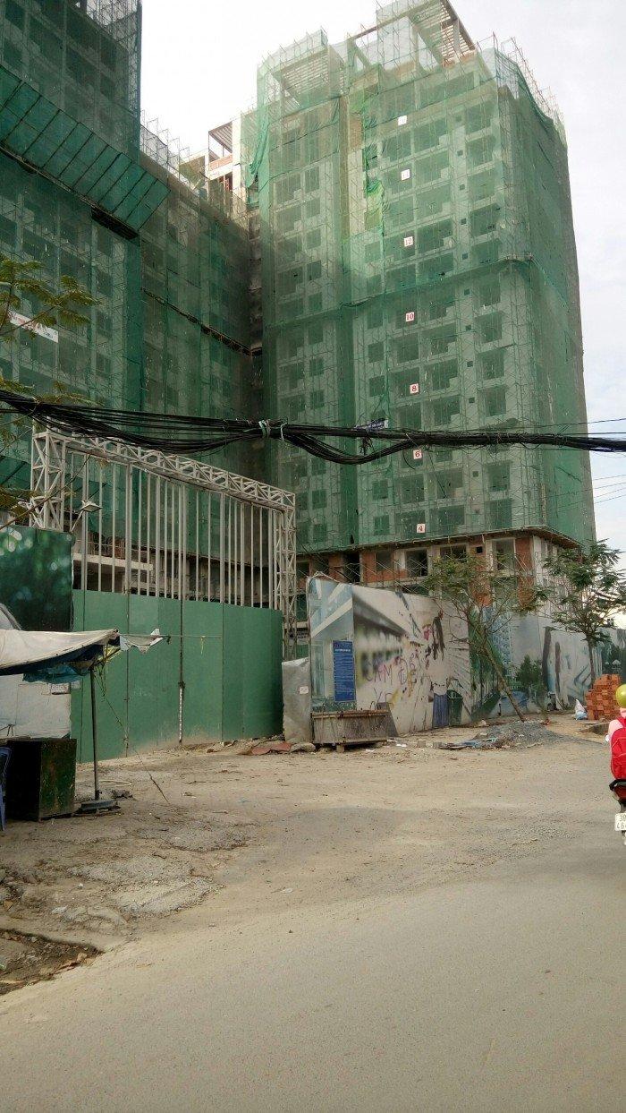 Đất MT đường 22 Phạm Văn Đồng, DT: 5.15x19.6m, Đối diện Chung cư