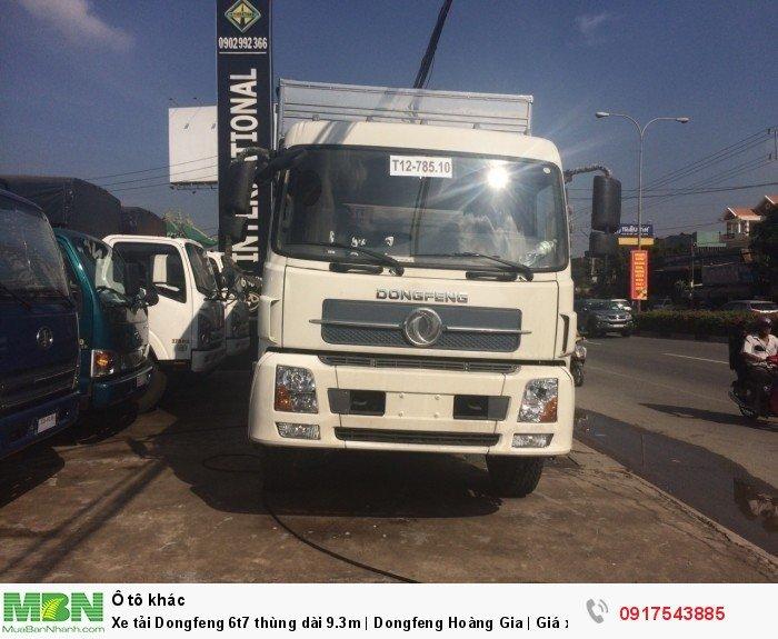 Xe tải Dongfeng 6t8 thùng dài 9.3m | Dongfeng 4 chân | Giá xe tải Dongfeng 1
