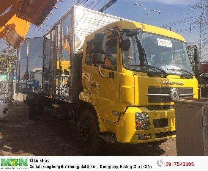 Xe tải Dongfeng 6t8 thùng dài 9.3m | Dongfeng 4 chân | Giá xe tải Dongfeng 2