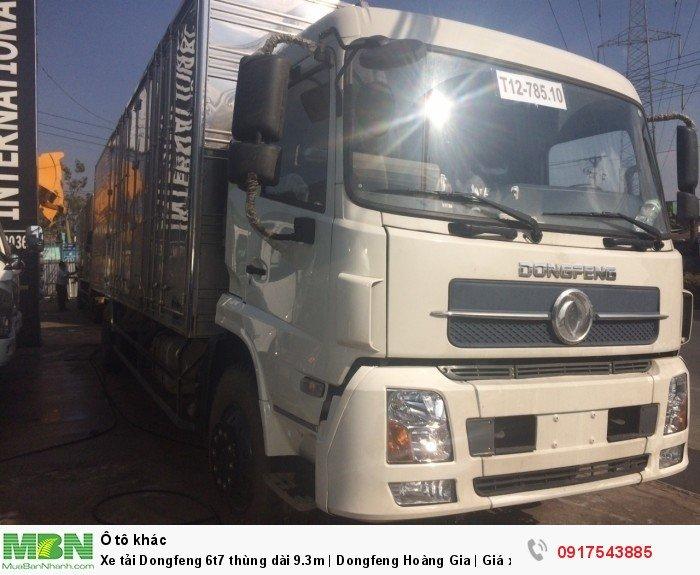 Xe tải Dongfeng 6t8 thùng dài 9.3m | Dongfeng 4 chân | Giá xe tải Dongfeng 3