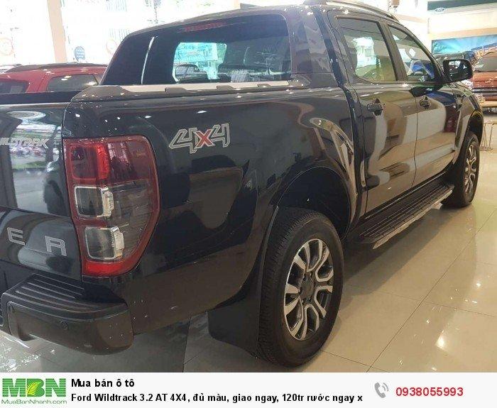 Ford Wildtrack 3.2 AT 4X4, đủ màu, giao ngay, 120tr rước ngay xe về - liên hệ để nhận ưu đãi tốt hơn