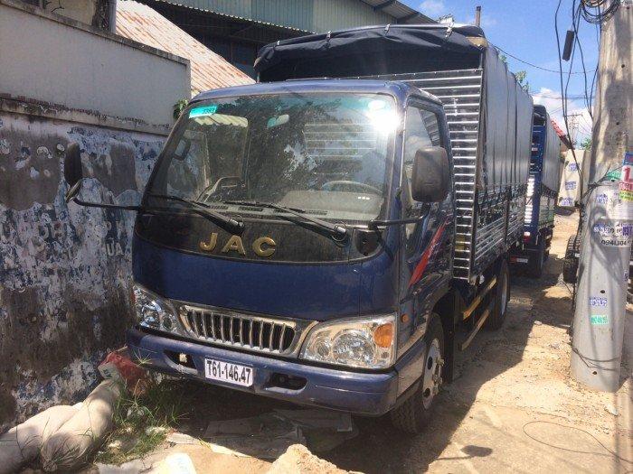 Bán xe tải JAC 2t4 | Giá xe tải JAC 2018 | xe tải JAC 2t4 thùng dài 3.7 mét 3