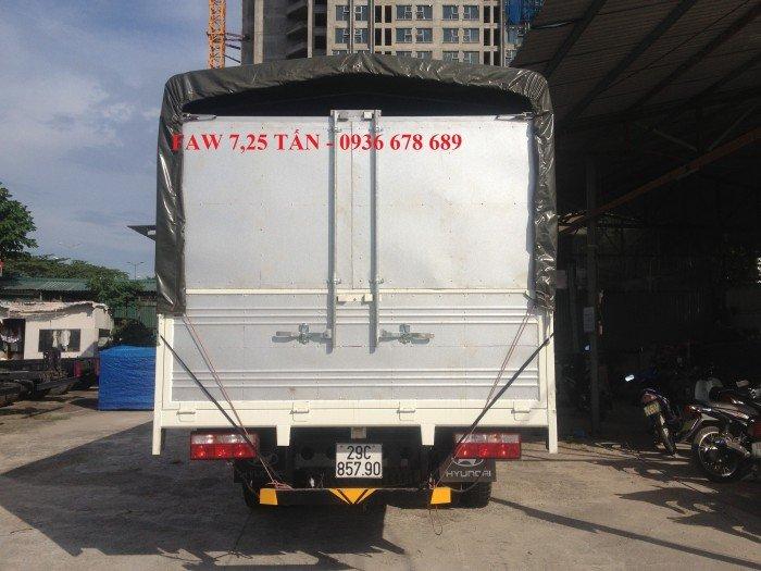 Xe tải faw 7,25 tấn | faw 7.25 tấn thùng 6m3 | faw 7t25 | giá cực rẻ
