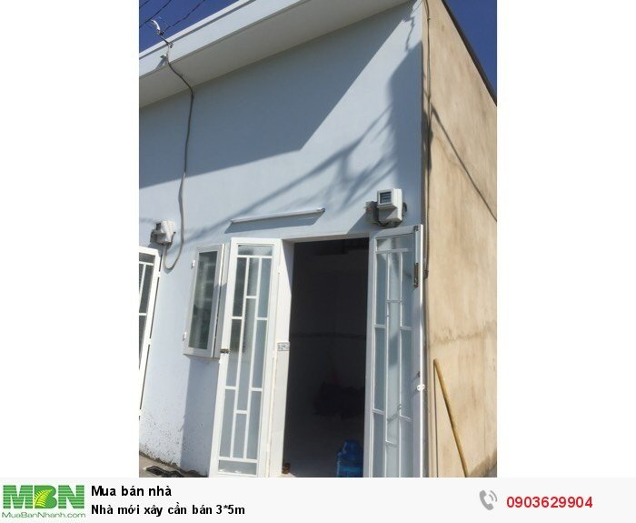 Nhà mới xây cần bán 3*5m