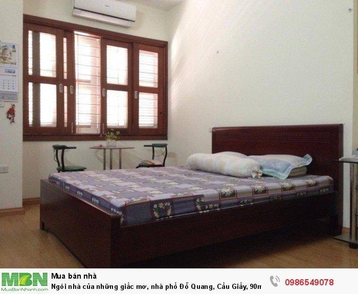 Ngôi nhà của những giấc mơ, nhà phố Đỗ Quang, Cầu Giấy, 90m2, 5T, mặt tiền 7m