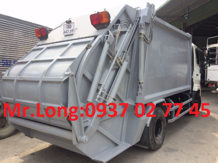 xe Hino chở rác 9 khối , xe Hino FC9JETA chở rác , xe Hino fc chở rác , xe chở rác 6 tấn , xe Hino 6t2 chở rác , xe Hino chở rác thùng 8 khối , Xe ép rác 8 khối 4