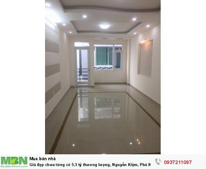 Giá đẹp chưa từng có thương lượng, Nguyễn Kiệm, Phú Nhuận, ô tô vô nhà, 5 tầng
