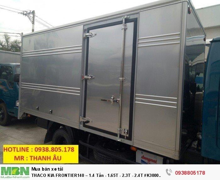 Thaco Kia Frontier140 – 1.4 Tấn - 1.65T - 2.3T - 2.4T #K3000 #K2700 3