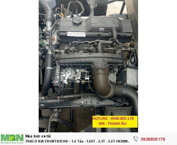 Thaco Kia Frontier140 – 1.4 Tấn - 1.65T - 2.3T - 2.4T #K3000 #K2700 5