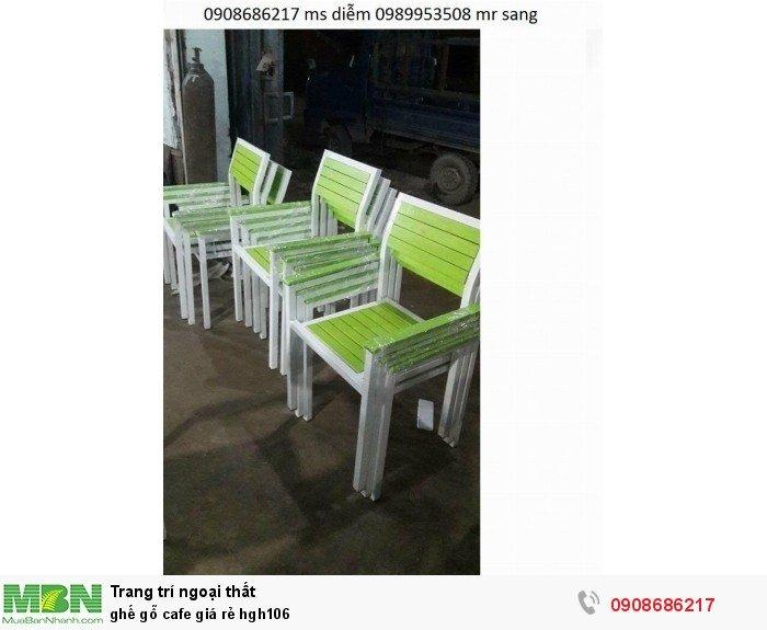 Ghế gỗ cafe giá rẻ hgh1061