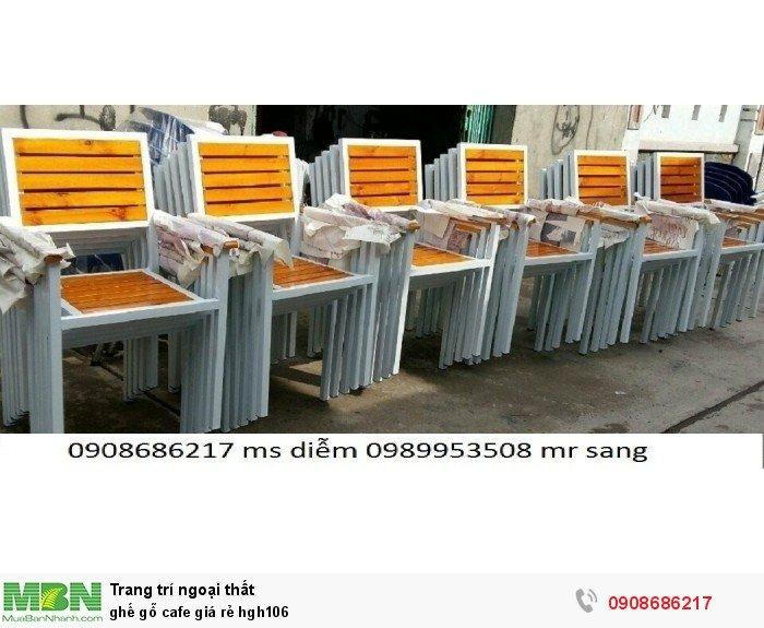 Ghế gỗ cafe giá rẻ hgh1062