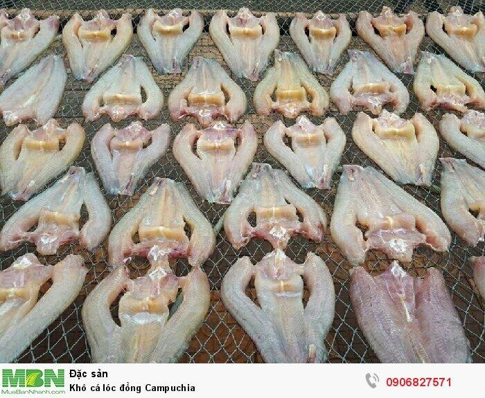 Khô cá lóc đồng Campuchia