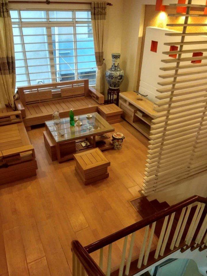 Cực đẹp Ngã Tư Sở, nhà mới 58m2x4T, nội thất gỗ