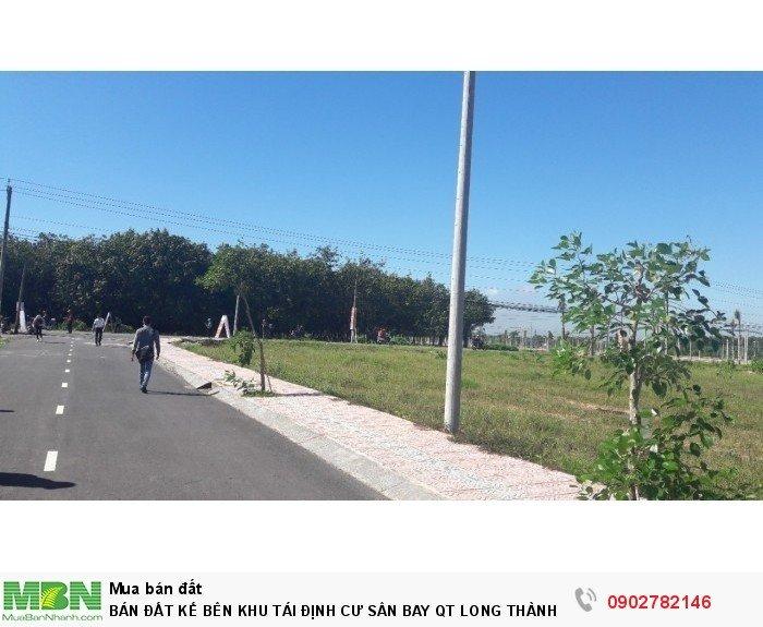 Bán đất kế bên khu tái định cư sân bay Long Thành đã có sổ, thổ cư 100%