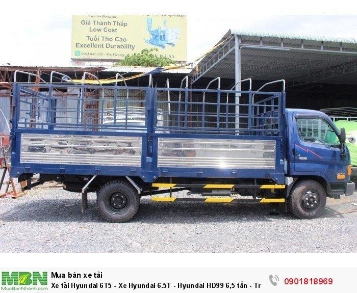 Xe tải Hyundai 6T5 - Xe Hyundai 6.5T - Hyundai HD99 6,5 tấn - Trả trước 50 Triệu nhận xe