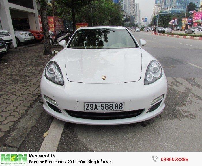 Porsche Panamera 4 2011 màu trắng biển vip