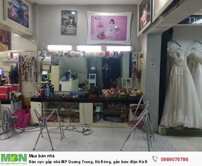 Bán cực gấp nhà MP Quang Trung, Hà Đông, gần bưu điện Hà Đông, giá tốt so với khu vực
