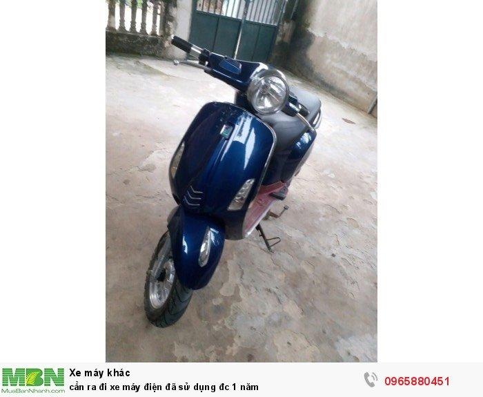 Cần ra đi xe máy điện đã sử dụng đc 1 năm