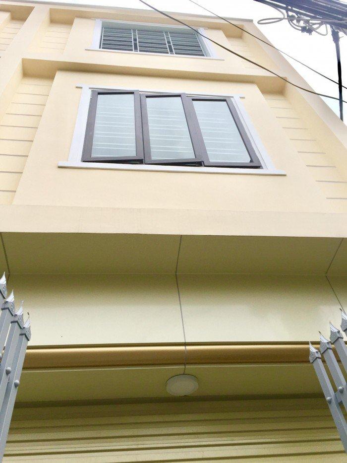 Nhà 3 tầng xây mới hiện đại, khung cột chắc chắn, sân cổng riêng, ngõ 84 Đường Dân Lập,Tây Nam