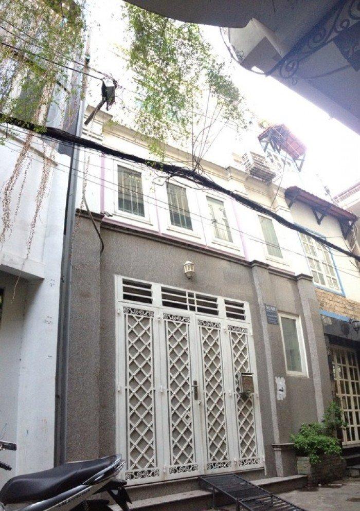 Bán nhà 4T ngõ 46 Phạm Ngọc Thạch, MT6m, nội thất đẹp