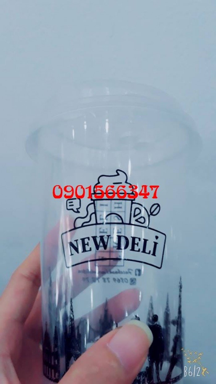 ly PP cứng 500ml
