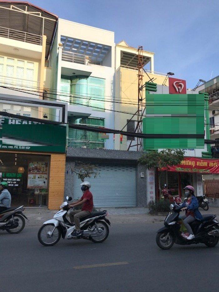 Cho thuê nhà mới đường Lê Đức Thọ, p6, Gv, 5x20m