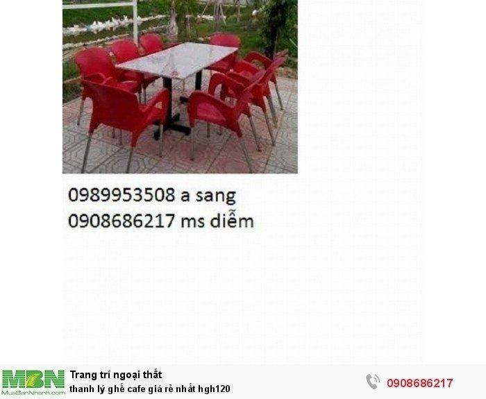 Thanh lý ghế cafe giá rẻ nhất hgh1201