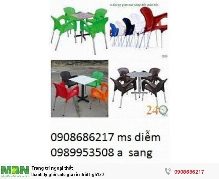 Thanh lý ghế cafe giá rẻ nhất hgh1203