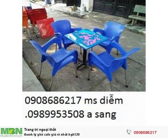 Thanh lý ghế cafe giá rẻ nhất hgh1204
