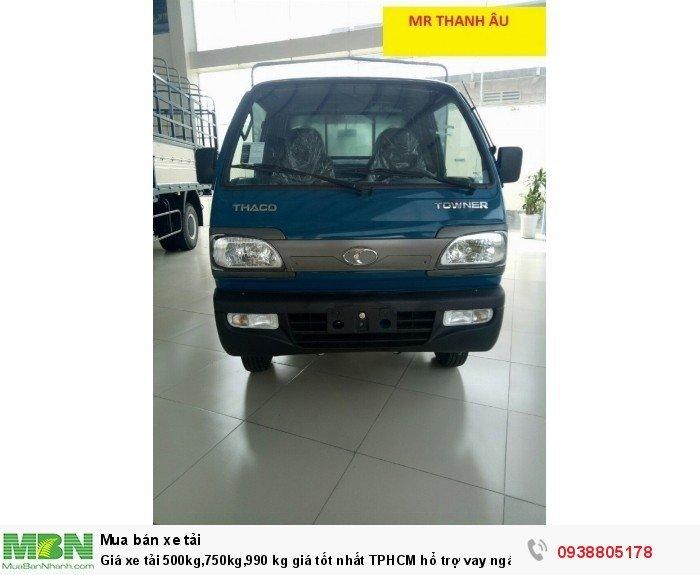 Giá xe tải 500kg,750kg,990 kg giá tốt nhất TPHCM hổ trợ vay ngân hàng, lãi suất ưu đãi.