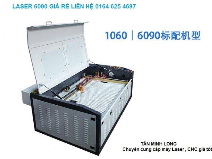 Máy khắc laser 6090 giá rẻ, chuyên cắt khắc gia công mica, cao su, ...4