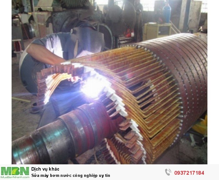 Sửa máy bơm nước công nghiệp uy tín