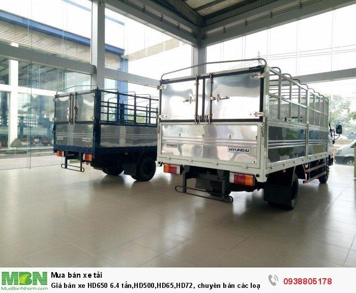 Giá bán xe HD650 6.4 tấn,HD500,HD65,HD72, chuyên bán các loại xe tải trường hải uy tín nhất.