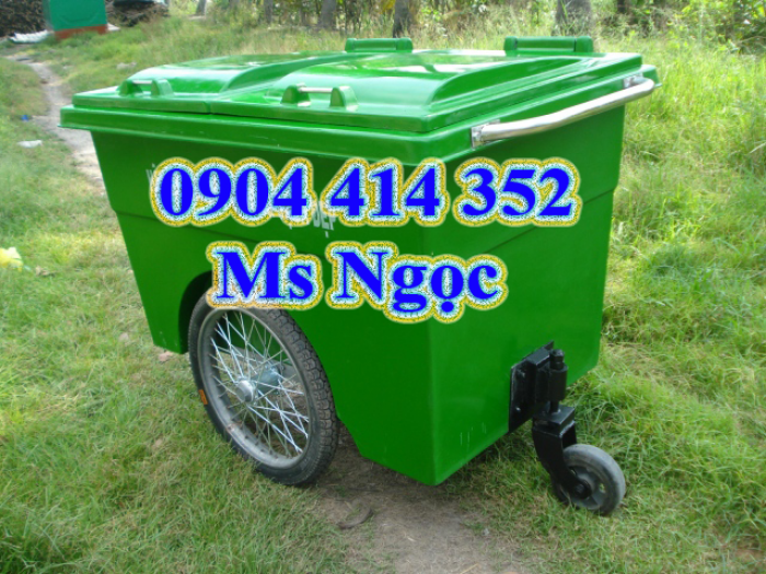 Xe chứa rác đẩy tay 1000 lit .Thùng rác 660 lít, xe thu gom rác 1000 lít. Thùng chở rác 660 lít tphcm