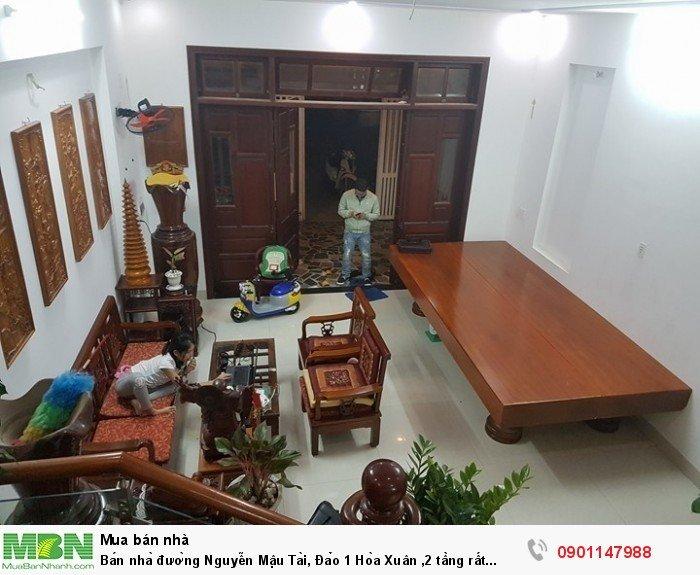 Bán nhà đường Nguyễn Mậu Tài, Đảo 1 Hòa Xuân 2 tầng rất đẹp