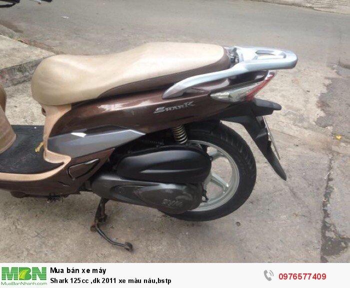 Shark 125cc ,dk 2011 xe màu nâu,bstp