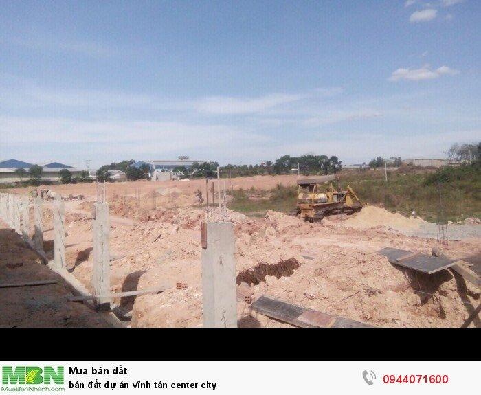 Bán đất dự án vĩnh tân center city