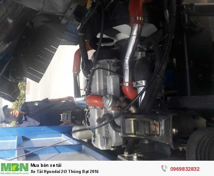 Bán Xe Tải Hyundai 2t3 Thùng Bạt 2016