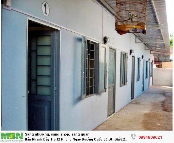 Bán Nhanh Dãy Trọ 12 Phòng Ngay Đường Quốc Lộ 50