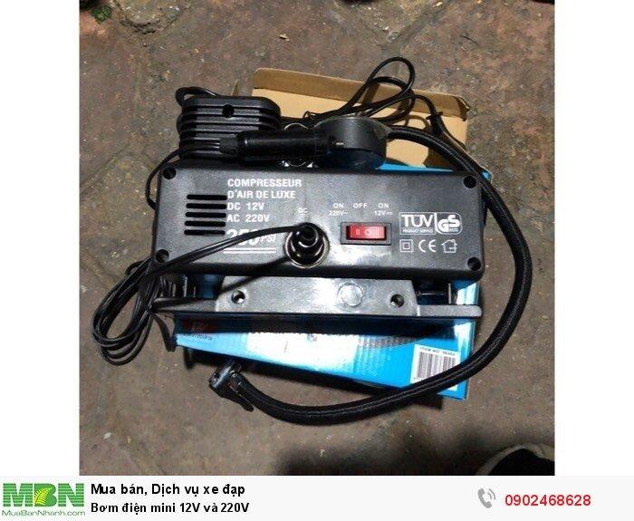Bơm điện mini 12V và 220V 2
