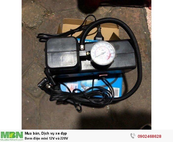 Bơm điện mini 12V và 220V 3