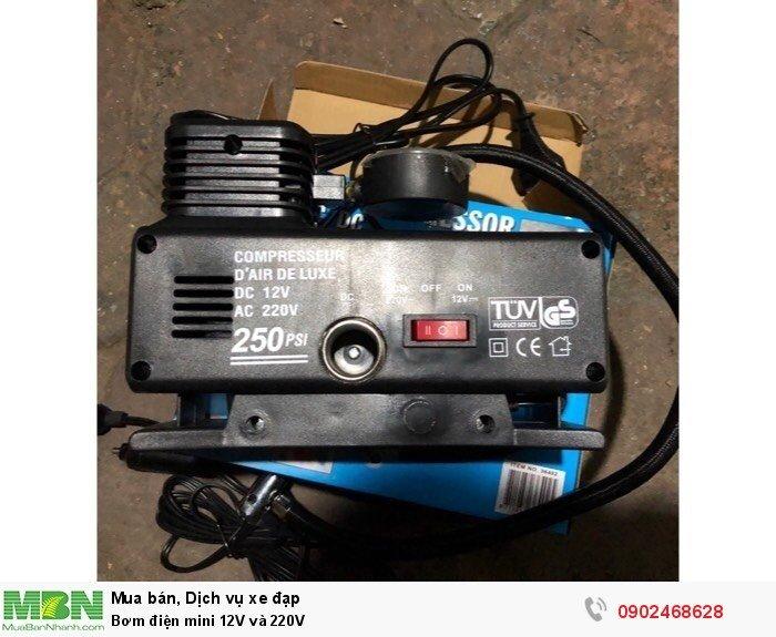 Bơm điện mini 12V và 220V 4