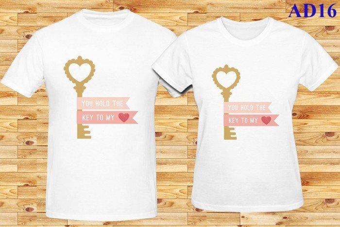 Áo thun đôi Key Love