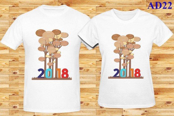 Áo thun đôi 2018