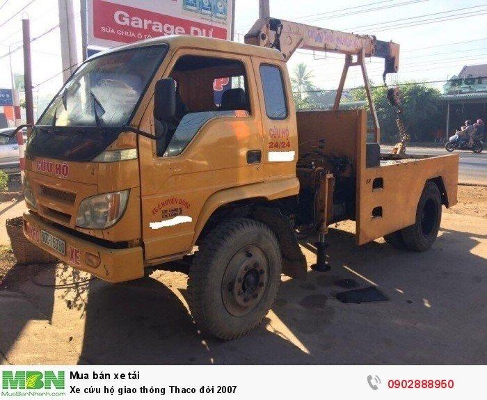 Xe tải cứu hộ giao thông Thaco đời 2007