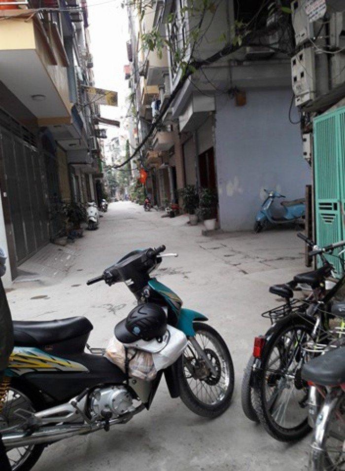 Nhà Tô Vĩnh Diện, Thanh Xuân, 35m, 6 tầng, ô tô đỗ.
