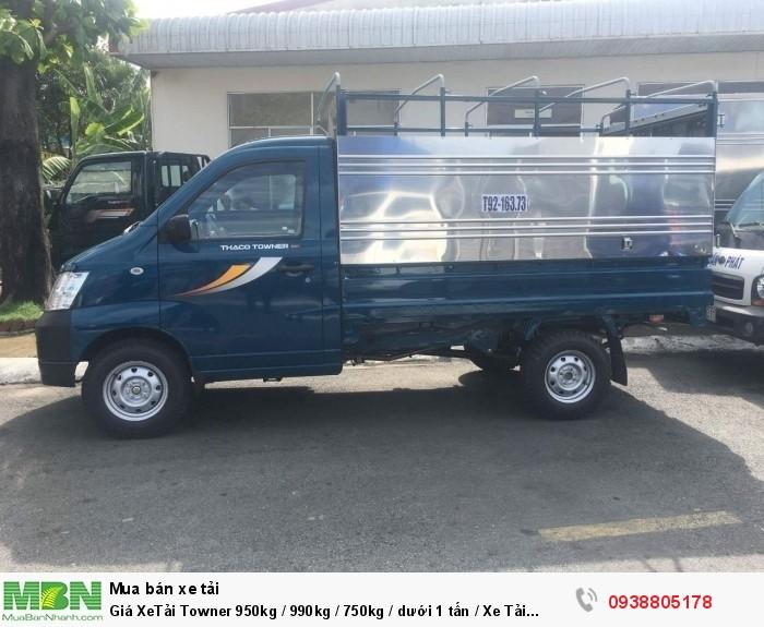 Giá XeTải Towner 950kg / 990kg / 750kg / dưới 1 tấn / Xe Tải Towner 950kg Động Cơ Suzuki ,Giá Tốt Tại Tphcm