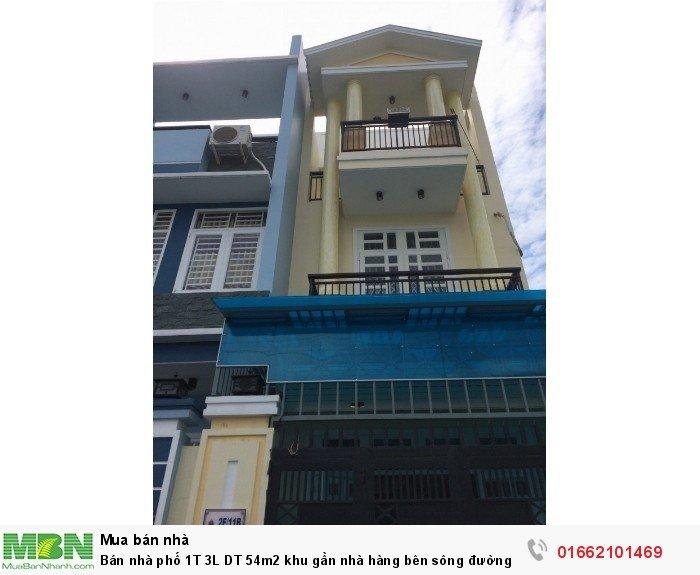 Bán Nhà Phố 1T 3L DT 54m2 Khu Gần Nhà Hàng Bên Sông Đường 26 Phạm Văn Đồng
